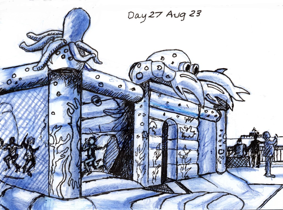 Day 27 Aug 23 Octoflate