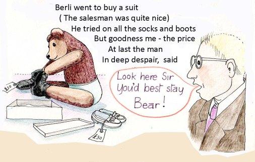 Berli tried on copy
